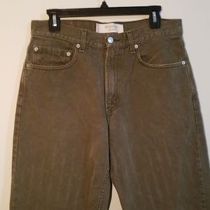 Levi's relaxed fit 550 jeans size 32x34